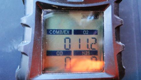 Controllo gas free serbatoi a Mestre Venezia